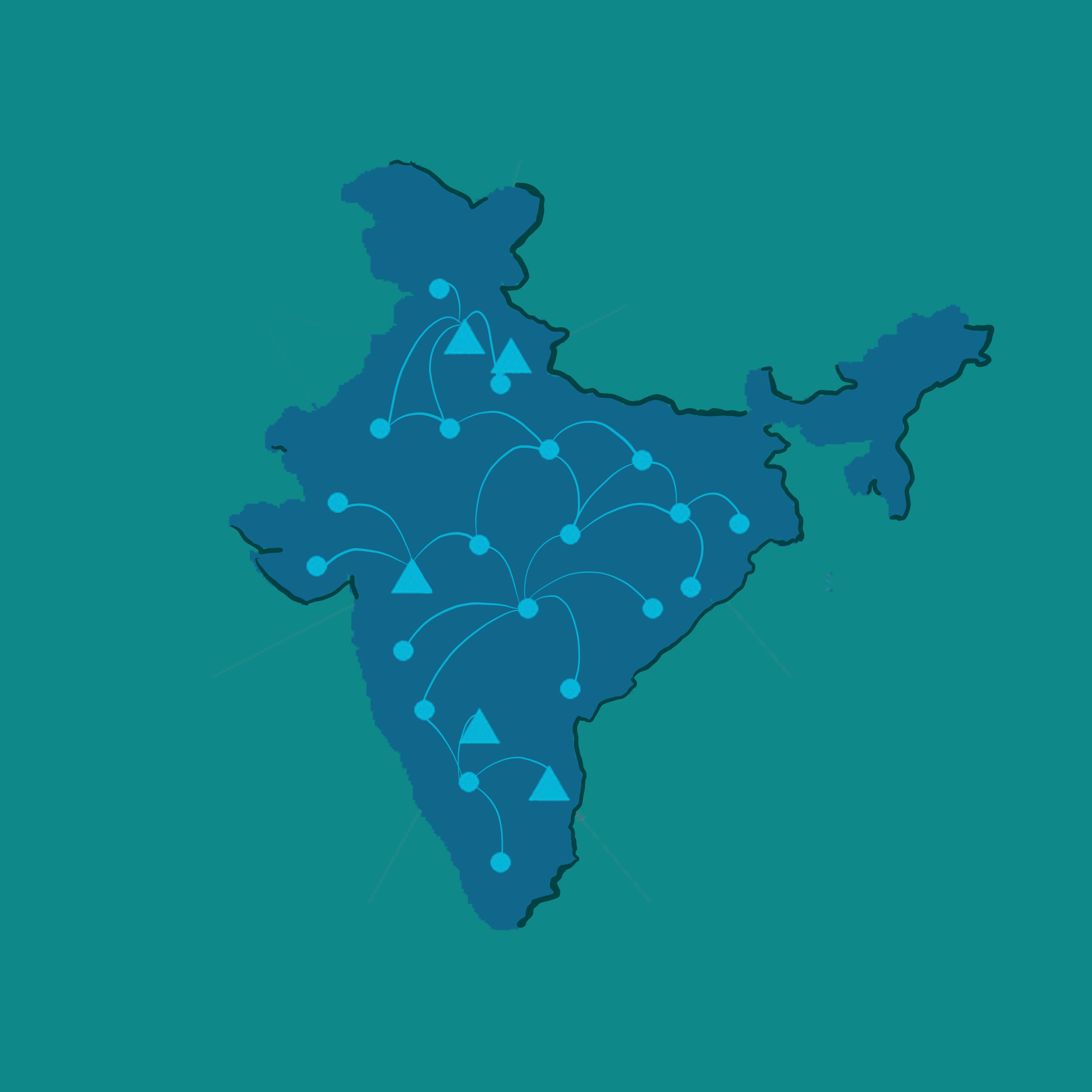 3D Map of India By AutoVRse